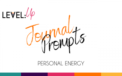 Journal Prompts: Personal Energy